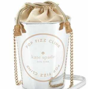 Kate Spade Champagne Bucket Tote