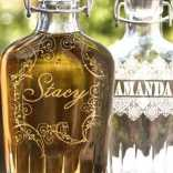 Personalized Ladies Flask Favors